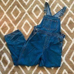 GAP women's classic vintage overalls S jeans